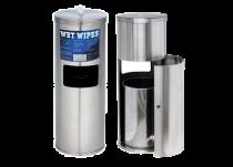 New WET WIPE Edelstahl Dosierspender All-in-One