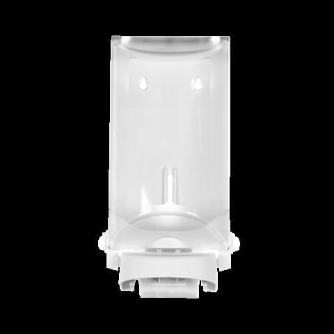 Sterisol Seifen-, Desinfektionsmittelspender Handbügel Wandspender 0,7 L weiss