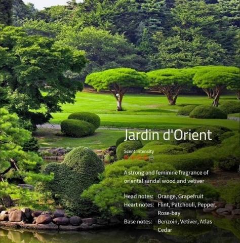 Jardin d´Orient Aromaöl 200 ml