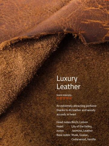 Luxury Leather Raumparüm Aromaöl 200 ml