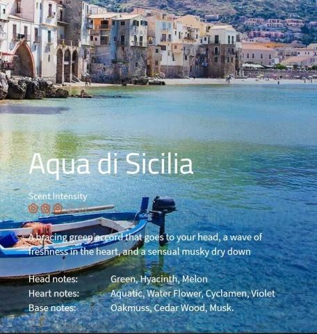 Aqua di Sicilia Ambiance Aromaöl 200 ml