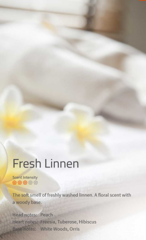 Fresh Linnen Duftmarketing Aromaöl 200 ml