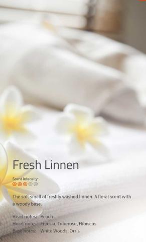 Fresh Linnen Aromaöl 200 ml