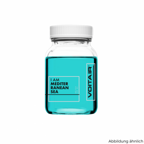 Mediterranean Sea - frisch, klar, fruchtig, aromatische Meeresbrise  VE: 200 ml im Glas
