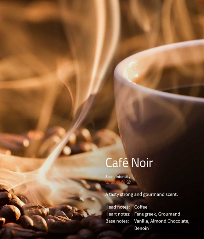 Café Noir Duftmarketing Aromaöl 200 ml