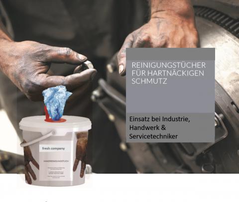 Reinigungstücher  für Handwerk & Industrie