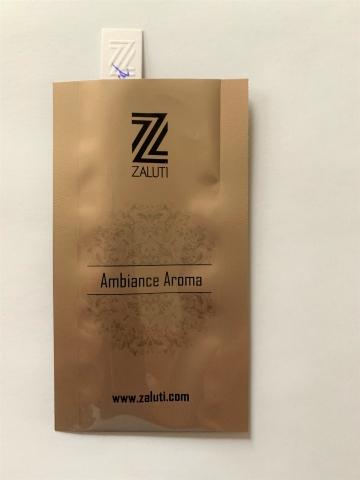 Luxury Leather Aromaöl Duftmuster