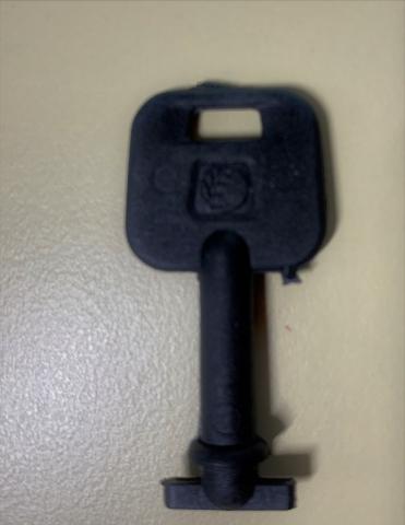 Ersatzschlüssel Wandspender