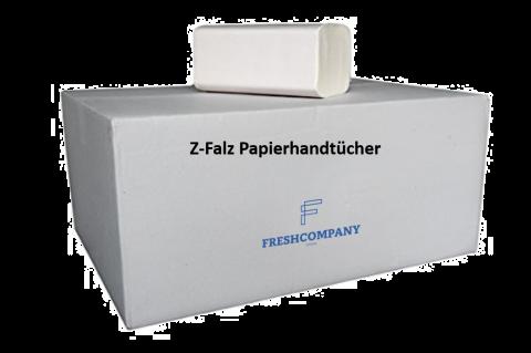 Z-Falz Papierhandtuch Recycling. 24 x 24 cm 2-lg 3'750 Blatt