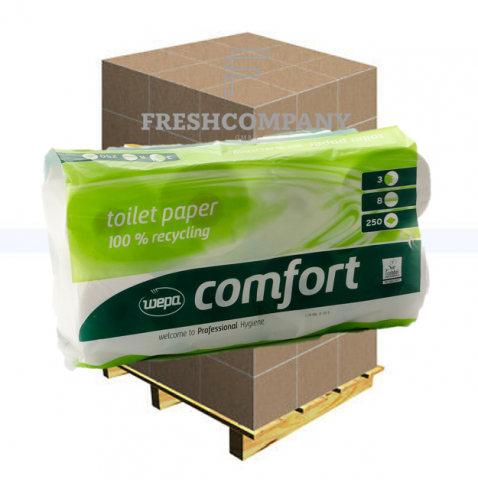 WC-Papier Toilettenpapier Wepa Comfort 1'296 Rollen