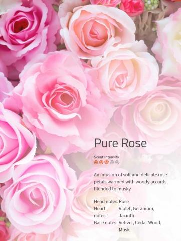 Pure Rose Aromaöl 200 ml