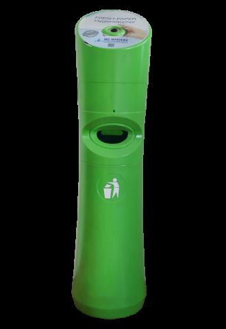 Wet Wipe Standspender Desinfektionstuchspender grün