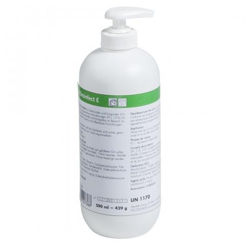 Handdesinfektionsmittel Hand Desinfect E  500ml Pumpflasche