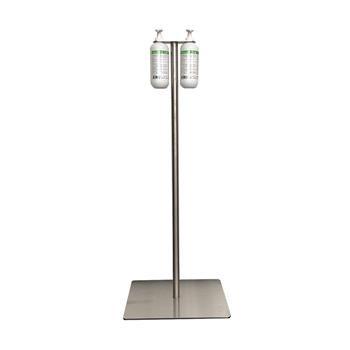 Desinfektionssäule Desinfektionsstandspender Dual-Pump für 2 x 500 ml