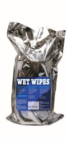 Wet Wipes Desinfektionstücher 12 Rollen à 310 Blatt