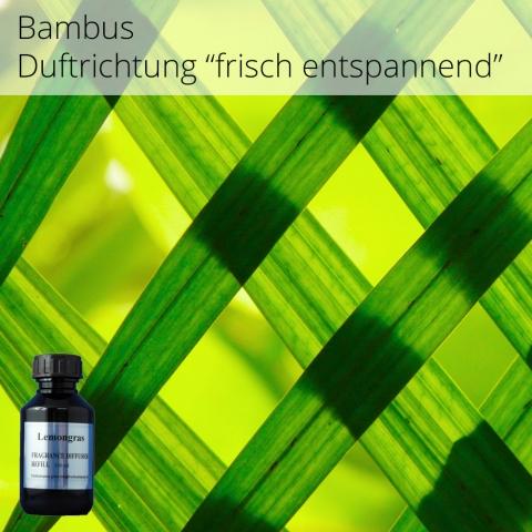 Der Geruch Bambus gibt einem das Gefühl von Besänftigung und Entspannung  Aromaöl Raumparfume erzeugen eine einzigartige, elegante Atmosphäre in Ihren Räumen  VE: 100 ml praktische Nachfüllflasche für ARIA