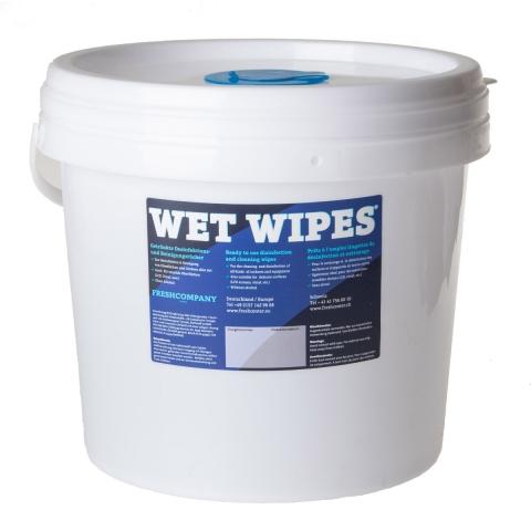 Spendereimer mit WET WIPES 620 Blatt
