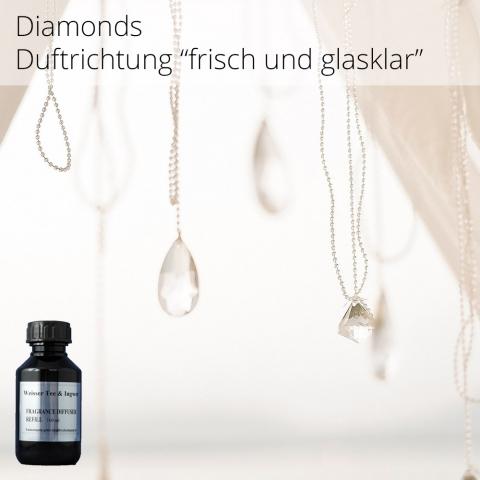 """Aromaöl Diamonds - Duftrichtung """"frisch und glasklar""""- Aromaöl für ARIA60 - 100 ml"""