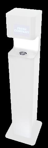 Händedesinfektionssäule DISTA Premium Sensor non touch -weiss