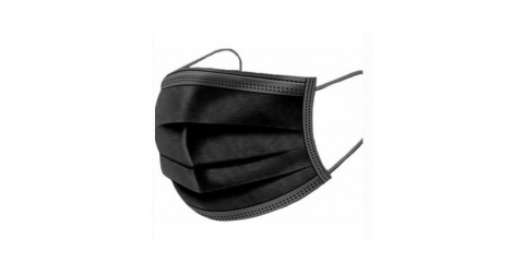 Face Mask 50 Stk. black
