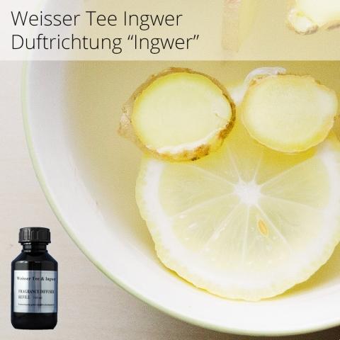 Weisser Tee & Ingwer Aromaöle für ARIA 100 ml