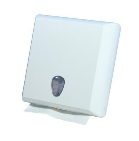 Papierhandtuchspender aus Kunststoff zur Wandmontage Z-Falz/250 Blatt