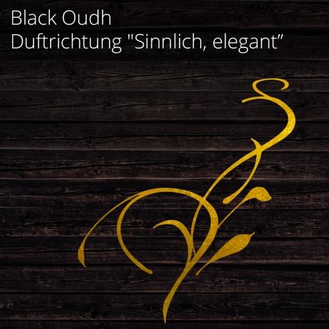 """Aromaöl Black Oudh - Duftrichtung """"Sinnlich, elegant""""- Aromaöl für ARIA60 - 100 ml"""