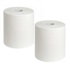extra grosse Papierrolle, Reinigungsrolle 2-lg. Zellstoff