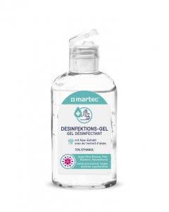 Hände-Desinfektions-Gel mit Aloe-Extrakt 12x 80ml