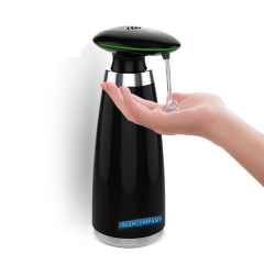 Desinfektionsmittelspender Sensor Automatik 350ml für berührungslose Ausgabe black