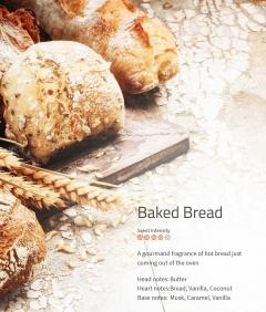 Baked Bread **** Duftmarketing   Ein Traum von Duft nach frischem Brot, direkt aus dem Backofen wie in der frische Bäckerei