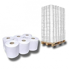 Handtuchrolle für Rollenpapierspender, 20cm x 100m unperforiert