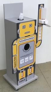 Desinfektionsspender Hygiene Robo für Wet Wipes und Händedesinfektion