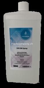 Tränkflüssigkeit für Flächendesinfektionstücher IVN DM Spray 1L