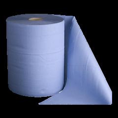 Reinigungsrolle 3-lg blau 1'000 Blatt