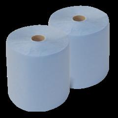 Putztuchrollen Reinigungsrollen-blau 3-lagig  2 x 500 Blatt