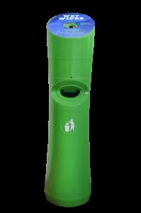 Desinfektionstuchspender,  Wet-Wipe Spender grün
