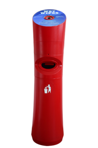 Wet Wipe Standspender Desinfektionstuchspender Rot